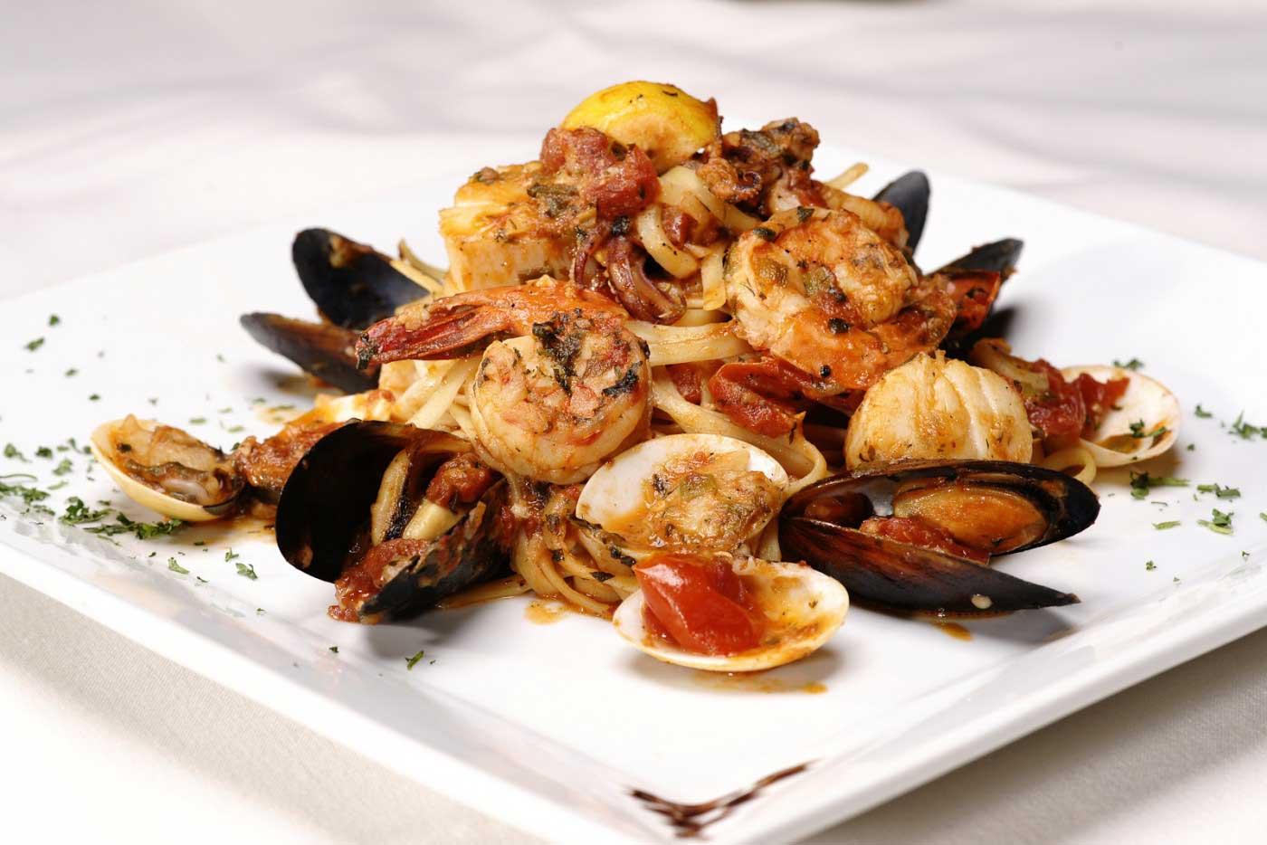 Valentino's Restaurant Food